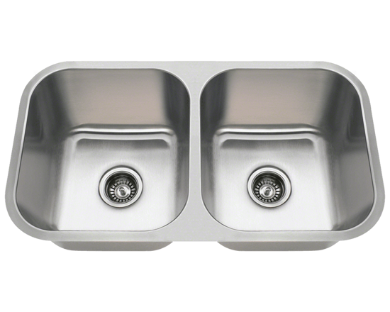 Picture of Kitchen Undermount Double Bowl Stainless Steel Sink