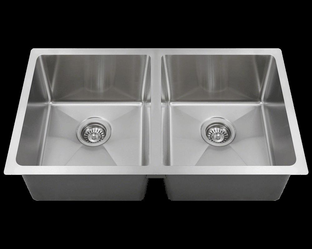 "Picture of Kitchen Undermount Sink 3/4"" Radius"