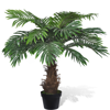 """Picture of Lifelike Artificial Cycas Palm Tree with Pot 31"""""""