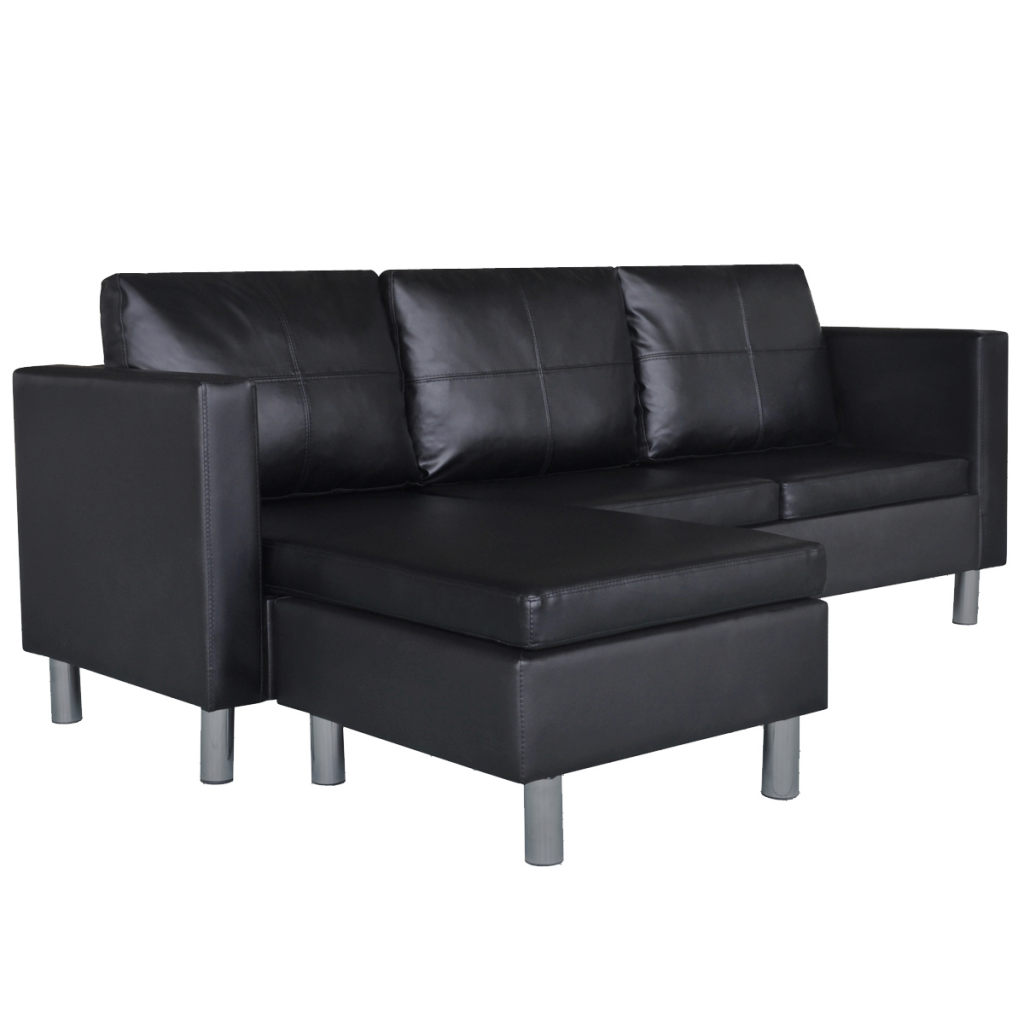 Picture of Living Room Sectional Sofa - Black