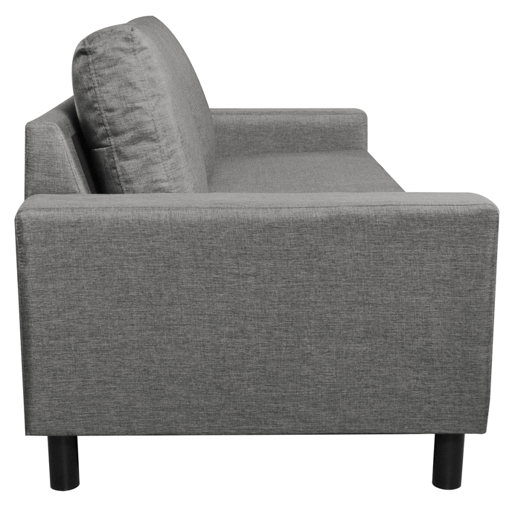 Picture of Living Room 3-Seater Sofa  Couch - Light Gray
