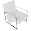Picture of Living Room Office Armchair - White