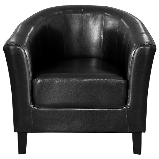 Picture of Living Room Tub Chair - Black