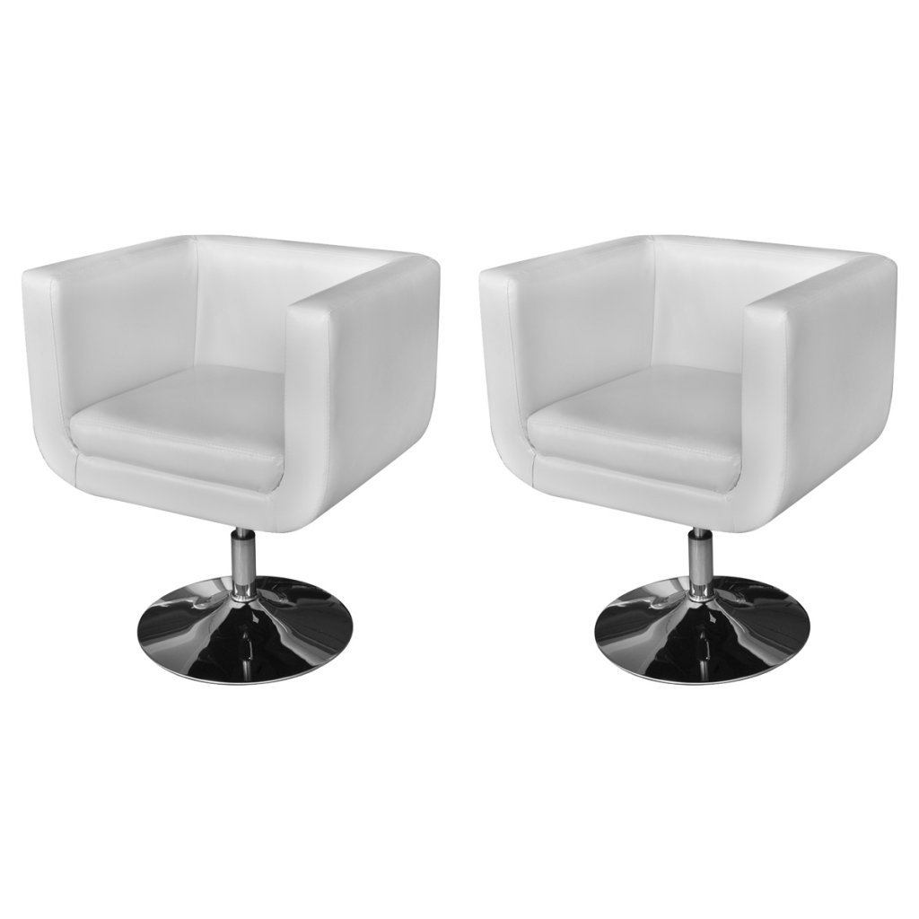 Picture of Living Room Chair - White 2 pcs