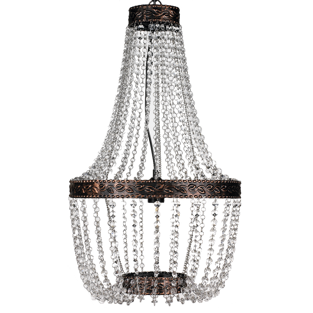 Picture of Living Room Chandelier - Brown