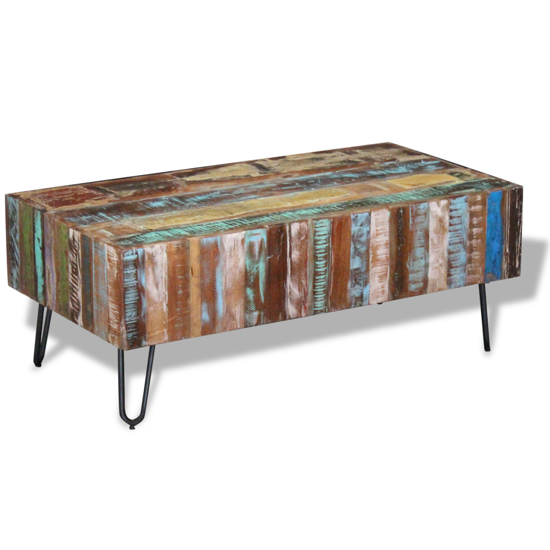 "Picture of Living Room Coffee Table - 39"" Reclaimed Wood"