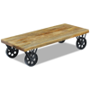 "Picture of Living Room Coffee Table - 47"" Mango Wood"