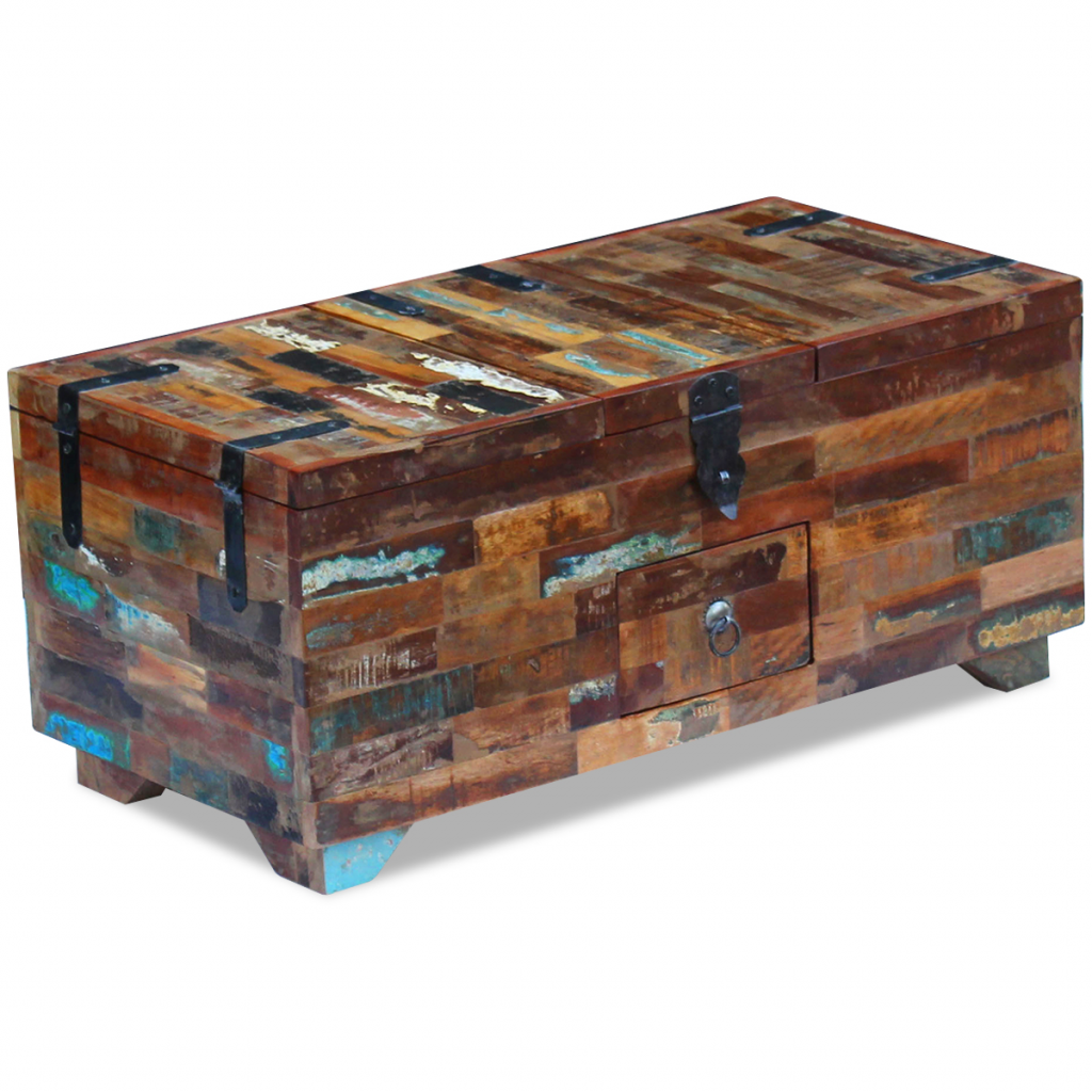 Picture of Living Room Coffee Table - Solid Reclaimed Wood