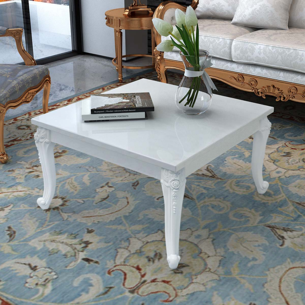 Picture of Living Room Coffee Table High Gloss White
