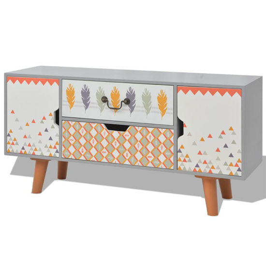 "Picture of Living Room Hallway Sideboard MDF 39"" - Gray"