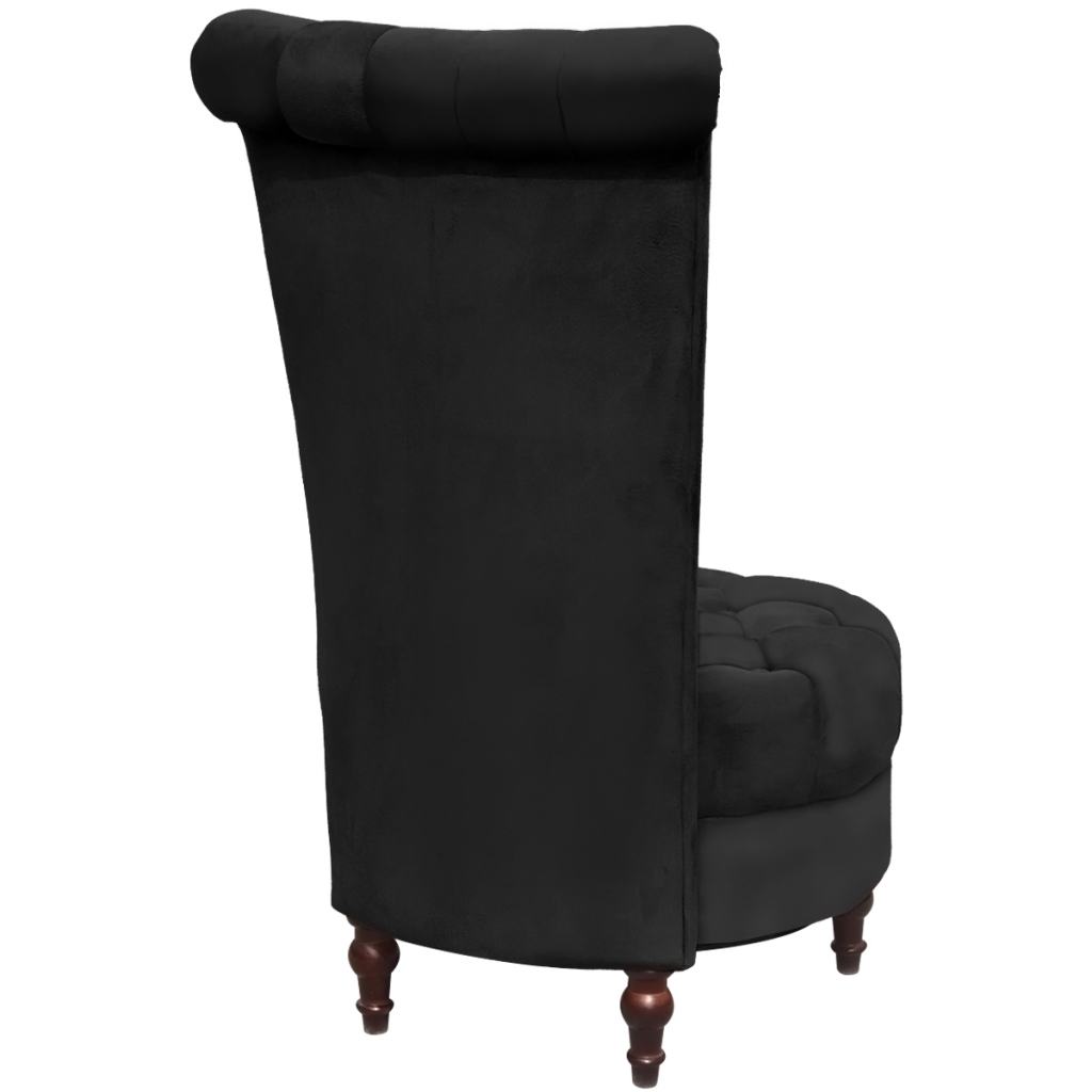 Picture of Living Room High Back Chair - Black