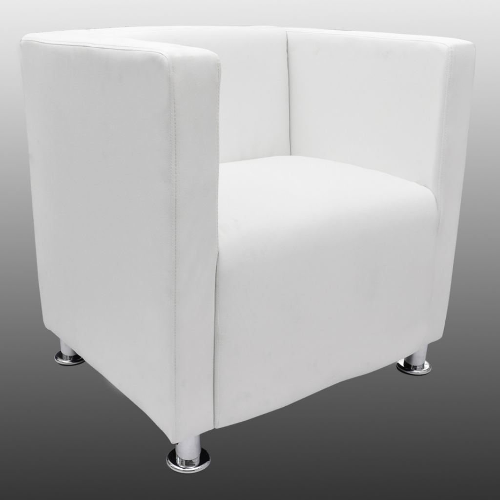Picture of Living Room Tub Chair - White