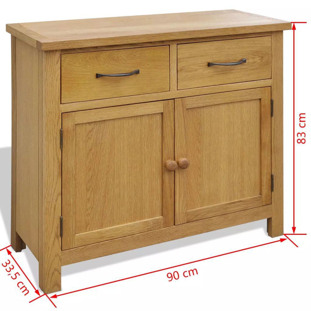 Picture of Living Room Sideboard - Oak