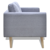 Picture of Living Room Sofa Couch 2-Seater - Light Gray