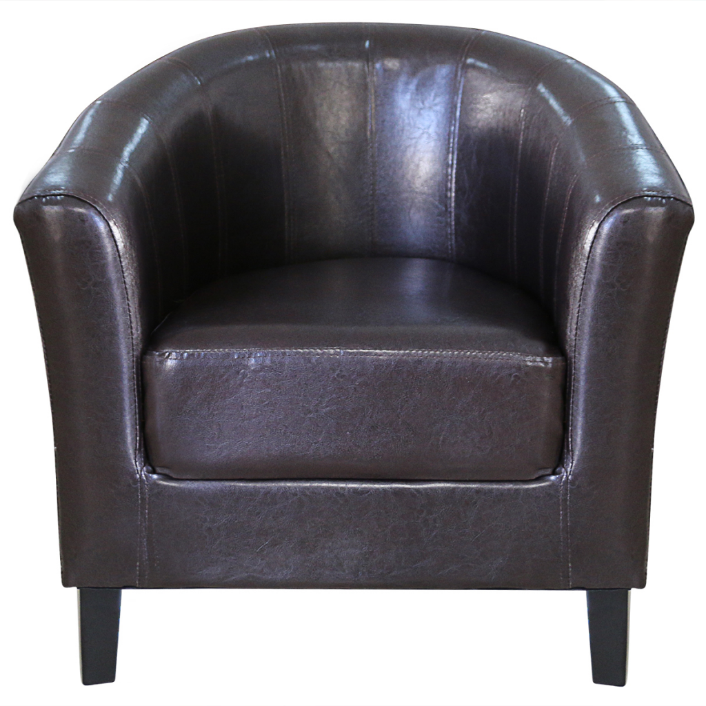 Picture of Living Room Tub Chair - Brown
