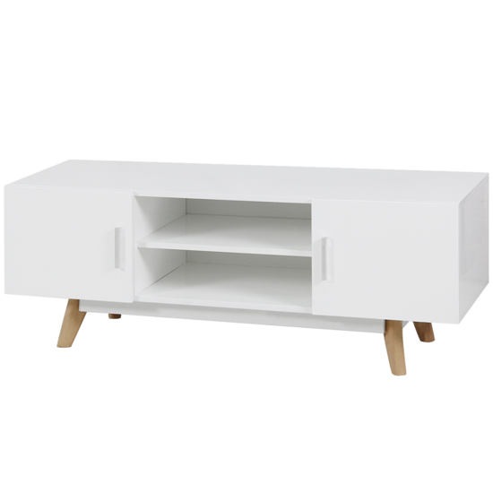 Picture of Living Room TV Cabinet High Gloss - White