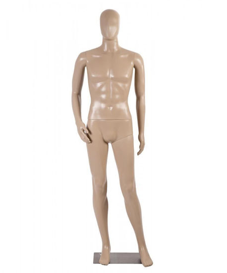 Picture of Male Full Body Mannequin with Base Head Turns