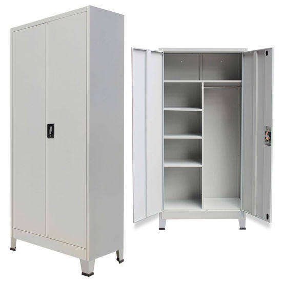 """Picture of Office Filing Cabinet 35"""" - Gray"""