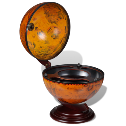 Picture of Mini Bar Globe Bar Drinks Cabinet Revolving Table Top Wine Storage