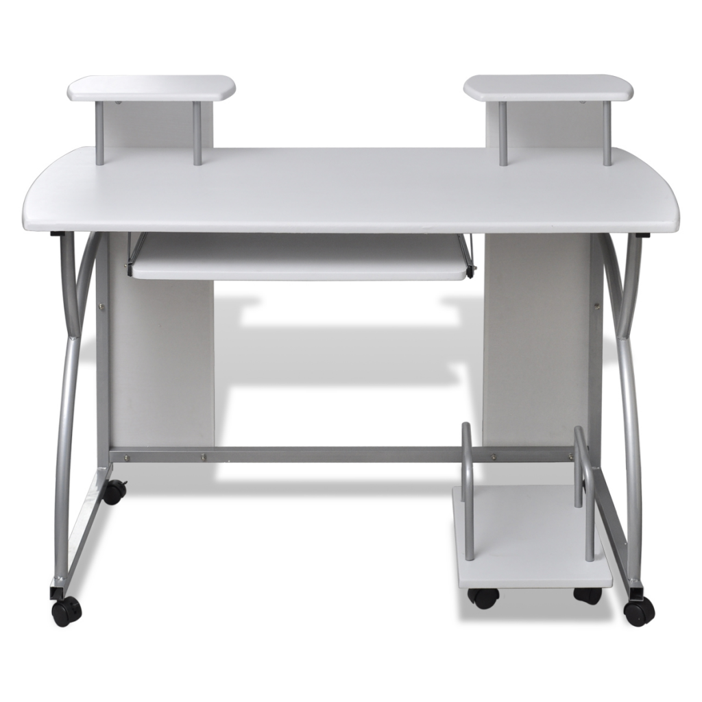 Picture of Office Computer Desk - White