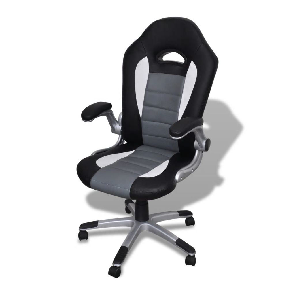 Picture of Modern Design Office Chair - Artificial Leather - Grey