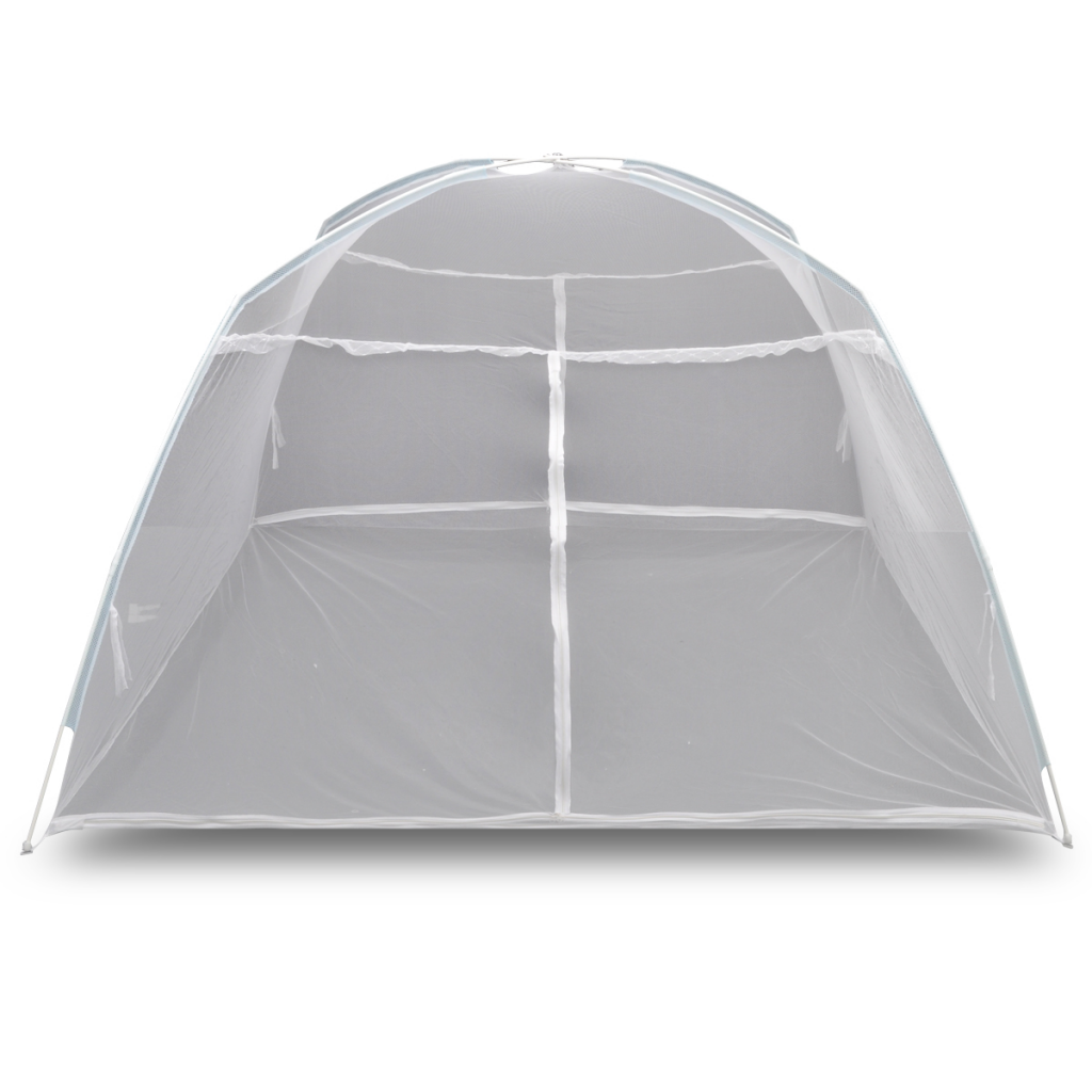"Picture of Mongolia Net Mosquito Net Curtain Fly Insect Screen Tent 6' 7"" x 5' 11"" x 4' 11"" - White"