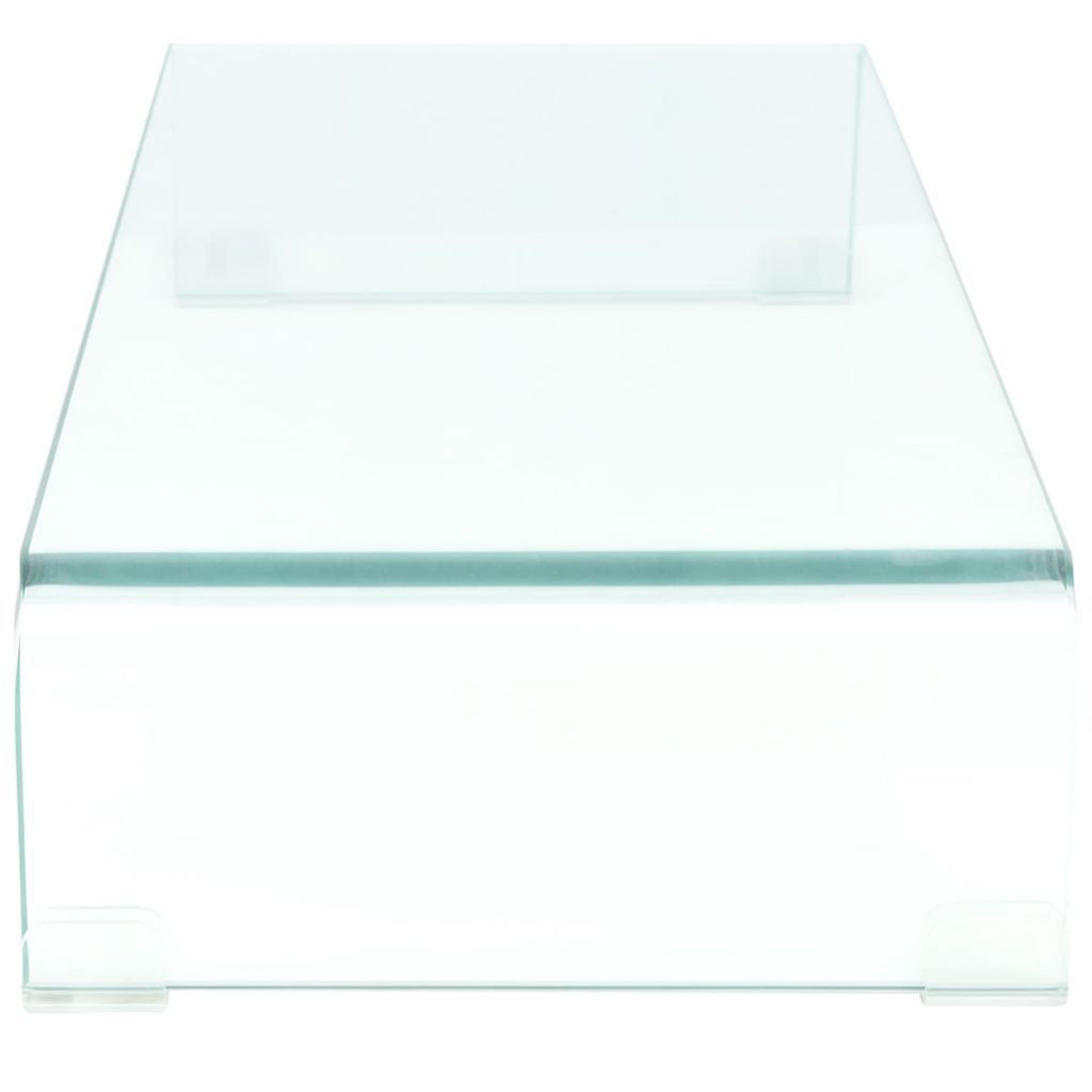 "Picture of Monitor Riser/TV Stand 31"" - Glass Clear"