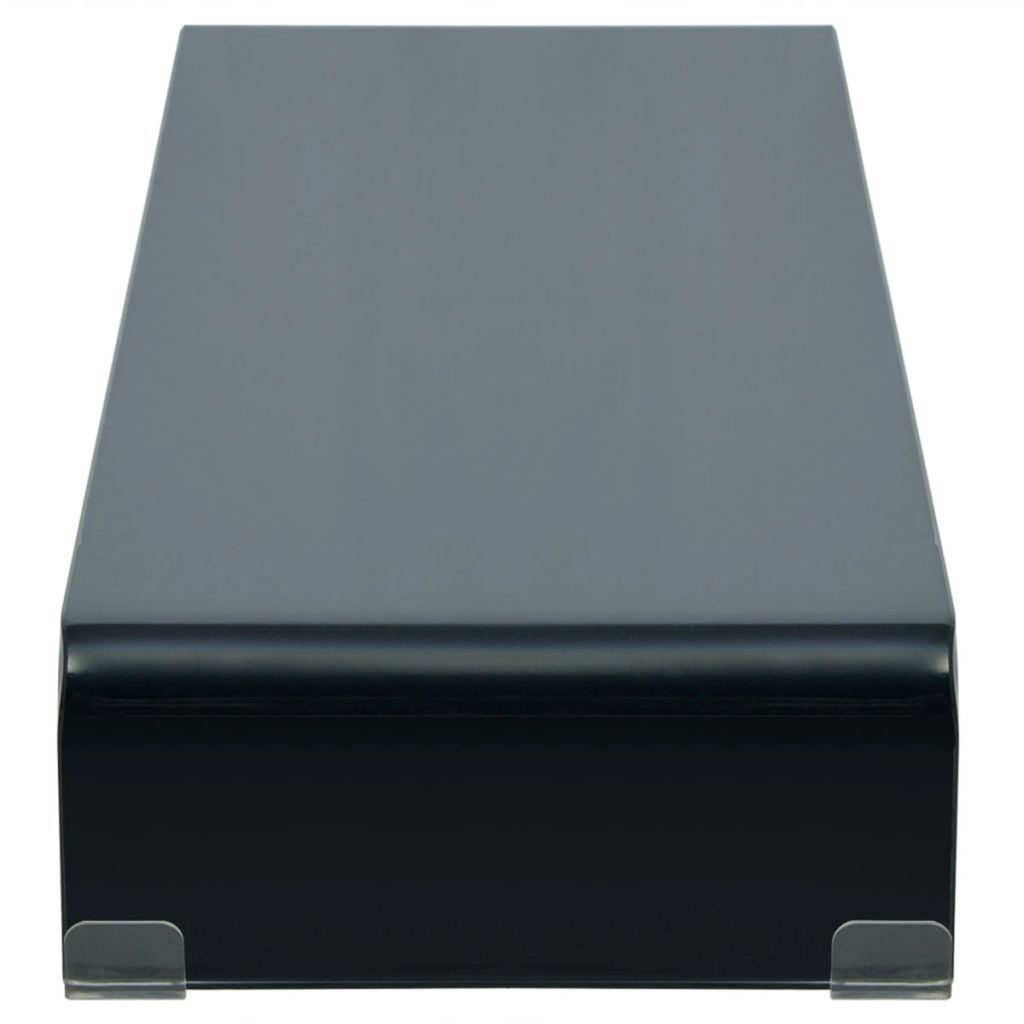"""Picture of Monitor Riser/TV Stand 43"""" - Glass Black"""