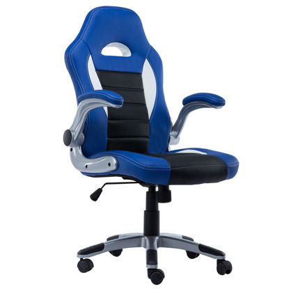 Picture of Office Chair Executive Racing Style Bucket Seat PU Leather