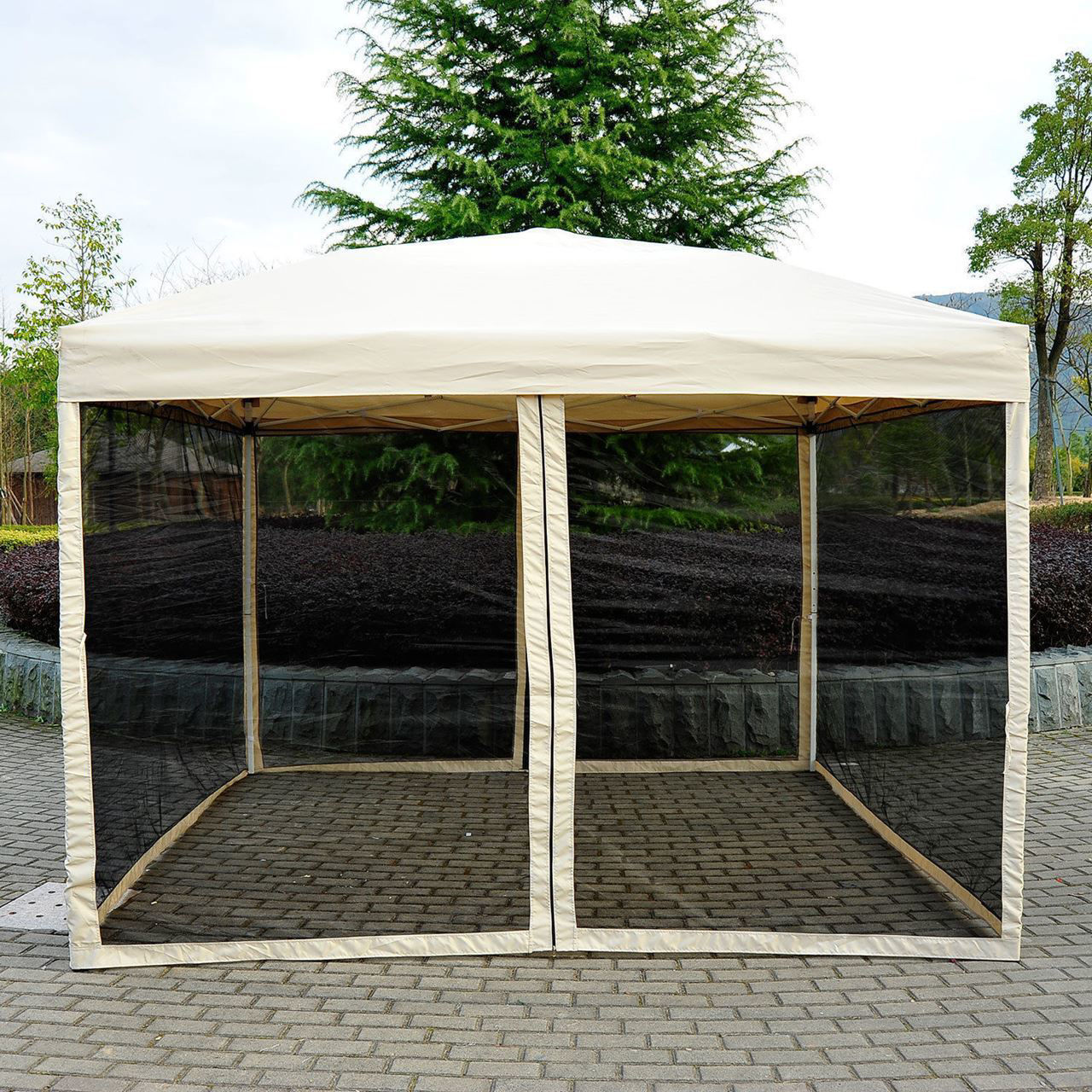 Picture of Outdoor 10' x 10' EZ Pop Up Tent with Mesh