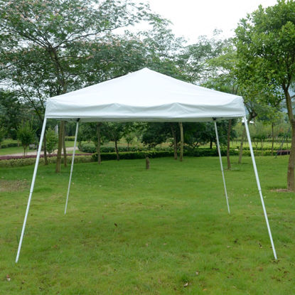 Picture of Outdoor 10' x 10' Easy Pop-Up Tent - White