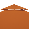 Picture of Outdoor 10' x 10' Waterproof Gazebo Cover Canopy - Terracotta