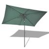 "Picture of Outdoor 10' x 6' 6"" Rectangular Hanging Umbrella Parasol Sunshade - Green"