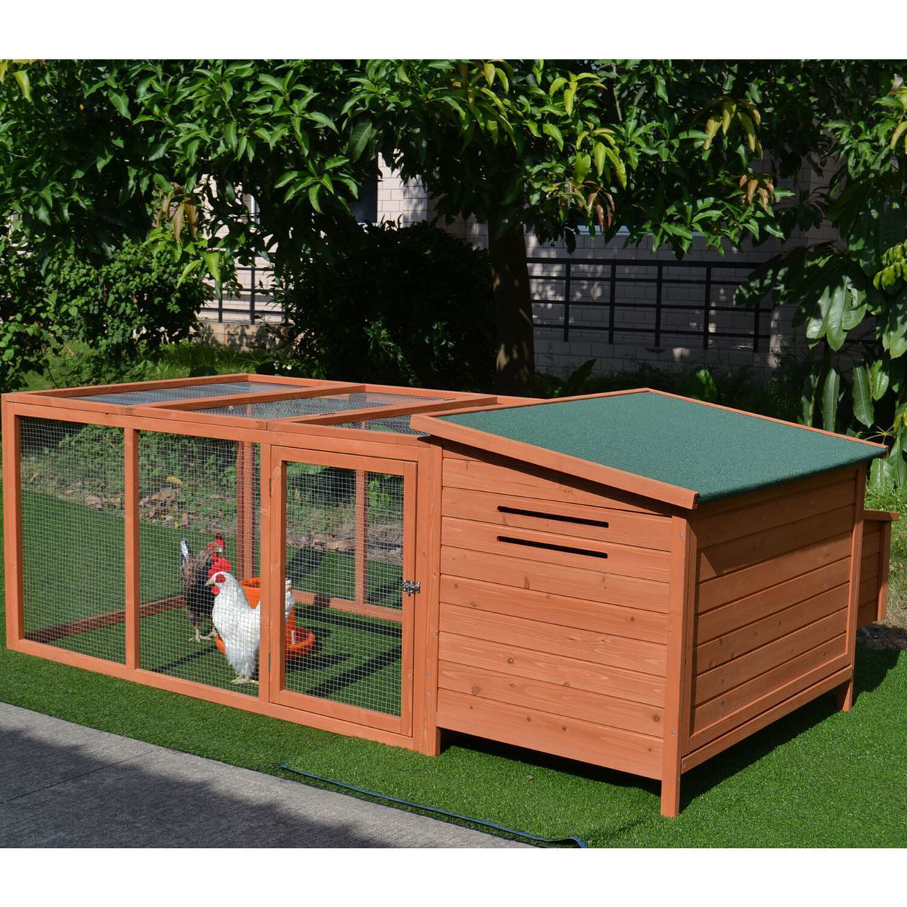 "Picture of Outdoor 87"" Chicken Coop"