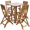 Picture of Outdoor Bar Set - Acacia Wood
