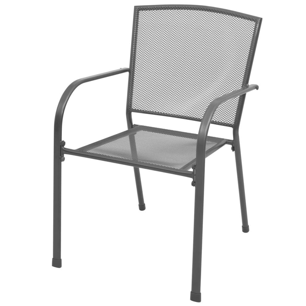 Picture of Outdoor Bistro Set 5pc - Steel Mesh