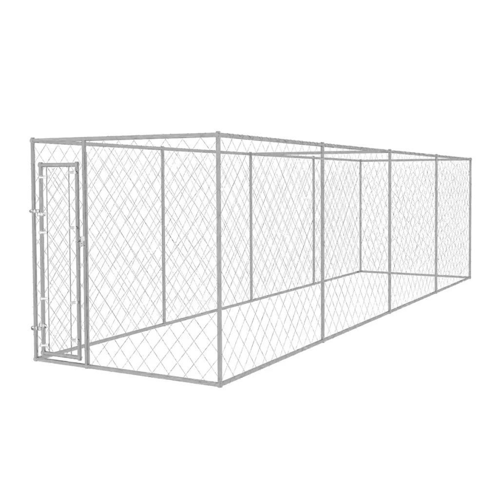 Picture of Outdoor Dog Kennel 25x6