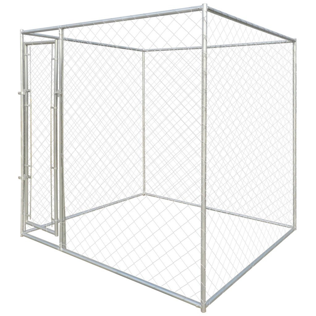 """Picture of Outdoor Dog Kennel 79"""" x 79"""" x 77"""" Heavy-duty"""