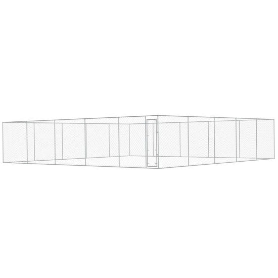 Picture of Outdoor Dog Kennel Galvanized Steel 32x32
