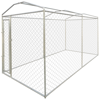 "Picture of Outdoor Dog Kennel with Canopy Top 79"" x 158"" x 93"" Heavy-duty"