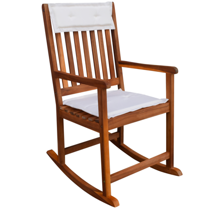 Picture of Outdoor Furniture Rocking Chair - Acacia Wood