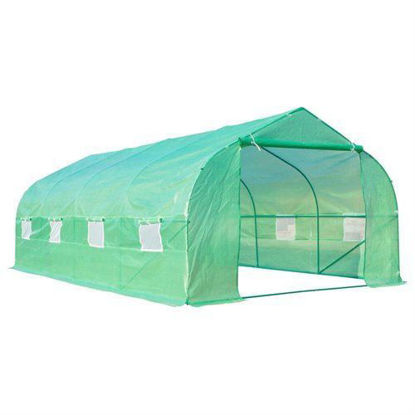 Picture of Outdoor Garden Greenhouse - 20' x 10' x 7'