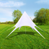 Picture of Outdoor Gazebo Hexagon Star Pavilion 33' - White