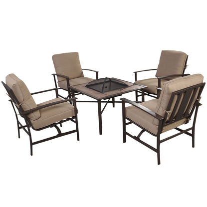 Picture of Outdoor Furniture Set with Fire Pit