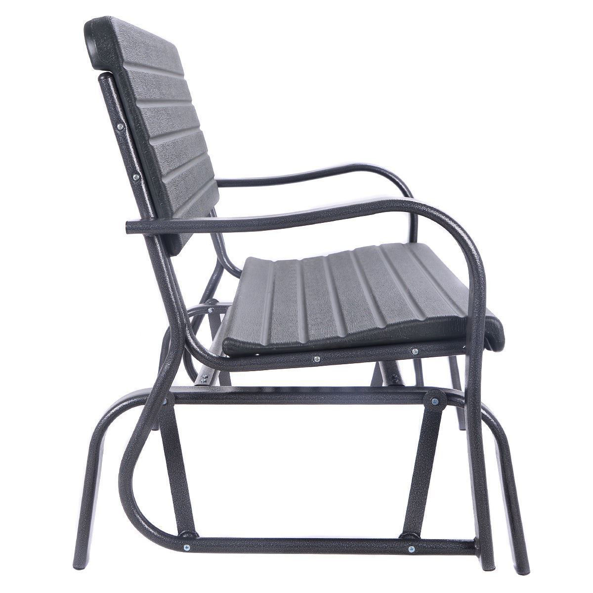 Picture of Outdoor Patio Swing Rocker Glider Bench