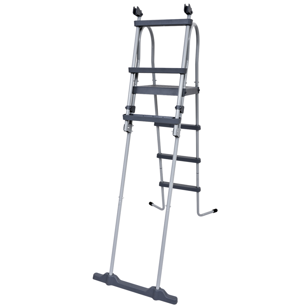 Picture of Outdoor Pool Safety Ladder Non-slip Steps Jilong Steel Frame - 4 ft