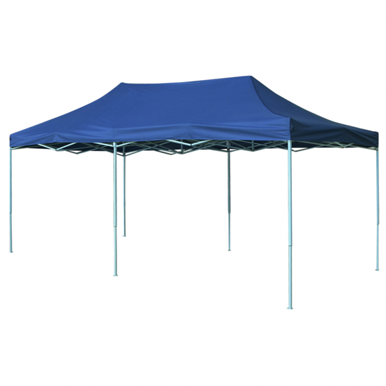 Picture of Outdoor Pop-Up Tent Gazebo Marquee 9.8'x19.7' - Blue