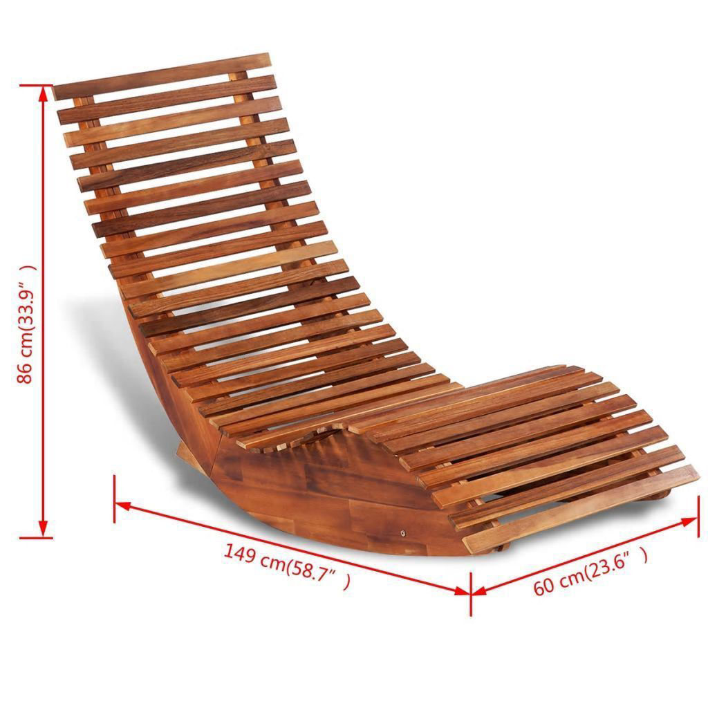 Picture of Outdoor Rocking Sun Lounger