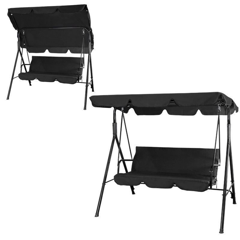 Picture of Outdoor Swing 3 Person - Black