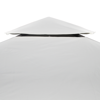 Picture of Outdoor Waterproof 10' x 13' Gazebo Cover Canopy - Cream White